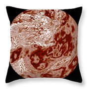 Planet Zeetuna Throw Pillow