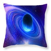 Planetary Galactic Throw Pillow