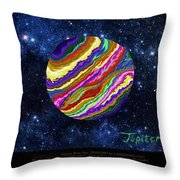 Planets 4 5 6 Astronomy Throw Pillow
