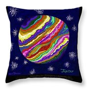 Planets 4 5 6  - Science Throw Pillow