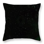 Planets And Moons Throw Pillow