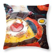 Planets Exploration Throw Pillow