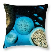 Planets In Line Throw Pillow