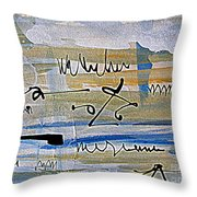 Planning Ahead Throw Pillow