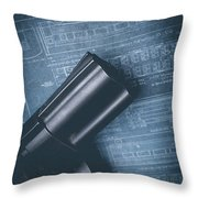 Planning The Heist Throw Pillow