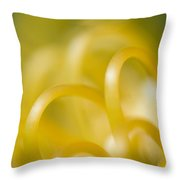 Plant Abstract Throw Pillow