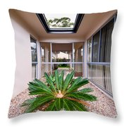 Plant Centerpiece Throw Pillow