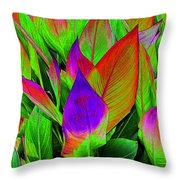 Plant Details Throw Pillow