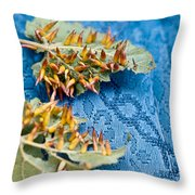 Plant Galls Throw Pillow