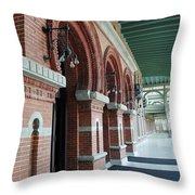 Plant Hall Throw Pillow