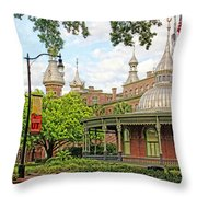 Plant Hall University Of Tampa Throw Pillow