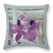 Plant In Negative Throw Pillow