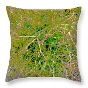 Plant Power 10 Throw Pillow