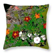 Plant Power 7 Throw Pillow by Eikoni Images
