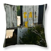 Plant Wall Needs Work Throw Pillow