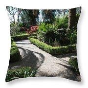 Plantation Garden Throw Pillow