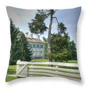 Plantation Home Throw Pillow