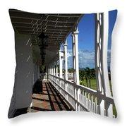 Plantation Porch Throw Pillow