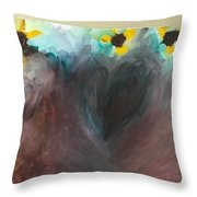 Planted Love Throw Pillow
