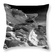 Plants And Birds And Rocks And Things Throw Pillow