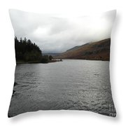Plas-y-brenin Throw Pillow