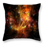 Plasma Drift Throw Pillow