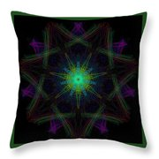 Plaster Ace Throw Pillow