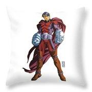 Plaster Paris  Throw Pillow