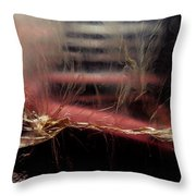 Plastic Bag 03 Throw Pillow by Grebo Gray
