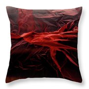 Plastic Bag 05 Throw Pillow by Grebo Gray