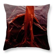 Plastic Bag 07 Throw Pillow