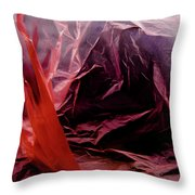 Plastic Bag 08 Throw Pillow