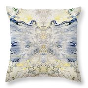 Plastic Fly Throw Pillow