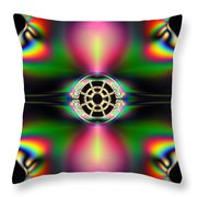 Plastic Quazar Throw Pillow