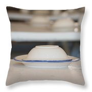 Plate Throw Pillow
