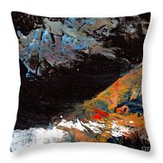 Plate Tectonics Throw Pillow