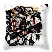 Plated Love Throw Pillow