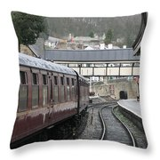 Platform 2 Throw Pillow