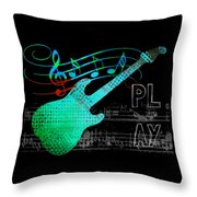 Play 4 Throw Pillow
