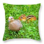 Play Buddies Throw Pillow