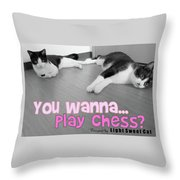 Play Chess? Throw Pillow