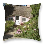 Play House / Planting Fields Throw Pillow