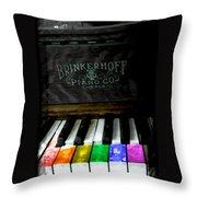 Play Me A Song Throw Pillow