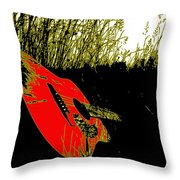 Play Me A Toon Throw Pillow