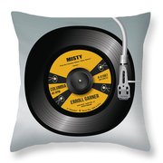 Play Misty For Me - Alternative Movie Poster Throw Pillow