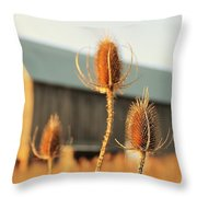 Play On Focus Throw Pillow