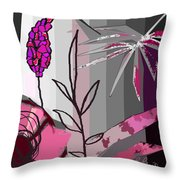 Play On Pink Throw Pillow