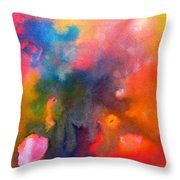 Play With Colours Throw Pillow
