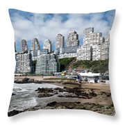 Playa Cochoa Chile Throw Pillow