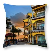 'playacar' Throw Pillow